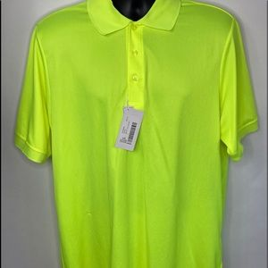 NWT Core 365 by North End Polo Shirt Sz Large